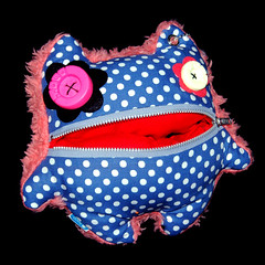 Elsie - Toco Junk Plush Monster