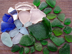 Beach Comber (icolorinthelines) Tags: new york blue ny green beach rochester lakeontario seaglass presto washedglass