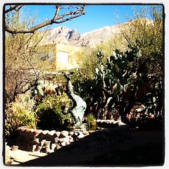 The Gallery in the Sun is open daily from 10-4, free admission. (DeGrazia Gallery in the Sun) Tags: arizona sun ted art architecture square artist gallery desert tucson lofi az adobe squareformat degrazia catalinas ettore iphoneography instagramapp uploaded:by=instagram