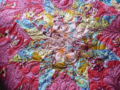 Finished Not-so Lonestar quilt (Reene@Nellie's Niceties) Tags: long amy arm feathers butler quilting kaffe fassett annamariahorner aurifil notsolonestarquilt