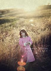 Sunrise ({amanda}) Tags: winter sun texture girl field sunrise vintage warm longgrass amandakeeysphotography
