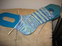 Bartholomew's Tantalizing Sock - WIP