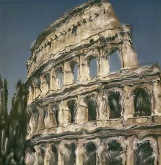 Coliseum 3 (rcc777) Tags: italy rome polaroid sx70 coliseum manipulatedphoto polaroidsx70 manipulatedpolaroid