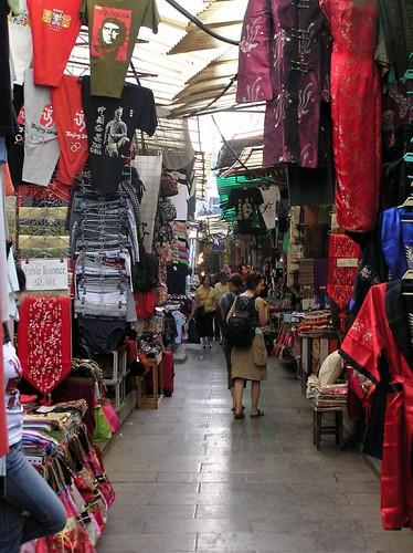 Muslim bazaar