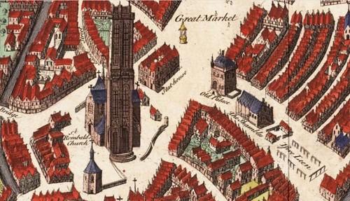 Mechelen Engelstalige kaart 1745