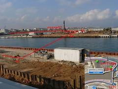 FORMULA 1 VALENCIA GP EUROPA CIRCUITO puente giratorio