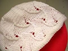 Bonnet, stitch pattern