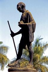 Inde Statue Gandhi