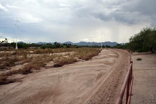 Rillito River 08-07-2006
