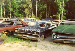 1959 Mercury. & 1964 olds & buick (chrysler383) Tags: auto salvageyard mercury 1959 1959mercury oldsmobile buick south carolina