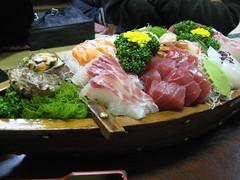 Sashimi (Yue @ Team NiyaNiya) Tags: food japan tokyo off yakatabune 20071110