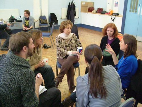 Group Discussions by emmapersky on Flickr