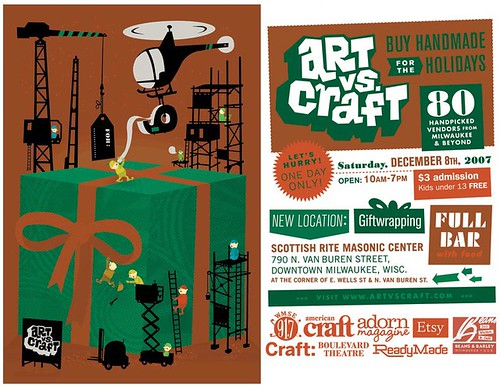 Art vs. Craft this weekend