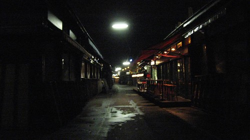 Naschmarket at night