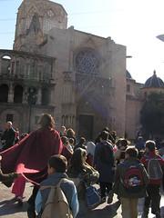 plaça de la verge i catedral