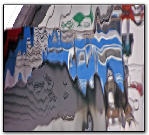 Painting with reflections....