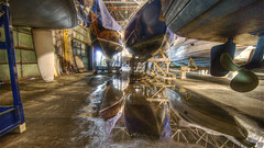 Boats at Port Credit (wili_hybrid) Tags: trip travel winter vacation urban holiday toronto canada reflection architecture reflections geotagged boats boat photo yahoo high dock nikon colorful flickr december dynamic photos interior ships picture pic indoors journey underside wikipedia imaging inside d200 mapping range geotag tone hdr hdri 2007 takeabow portcredit photomatix nikond200 tonemapped tonemapping highdynamicrangeimaging year2007 superbmasterpiece