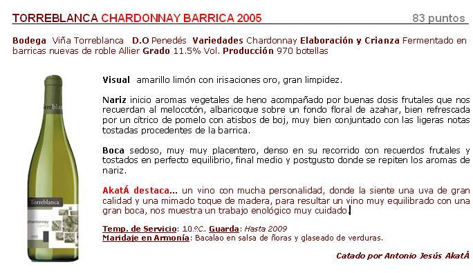 FichaTorreblancaChardonnay2005