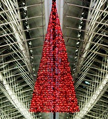 Merry Christmas!!! (michaelab311) Tags: paris airport searchthebest geometry christmastree symmetry goodbye flughafen weihnachtsbaum merrychristmas departure abschied cdg aurevoir aufwiedersehen froheweihnachten joyeuxnoel bientt bientt anawesomeshot michaelab311 flickrjobdiff diamondclassphotographer michaelab