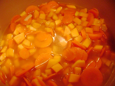 butternut squash carrot soup