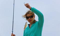 Kelly (Josh Segal) Tags: blue fish cold water boat florida dunedin fl d40