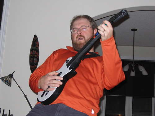 Rockin' on with Guitar Hero