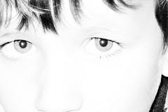 Y (beta karel) Tags: portrait bw closeup eyes highcontrast 2008 betakarel betakarel