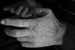 . (Mp3PintyoPhoto) Tags: travel portrait people blackandwhite bw work canon hand forsakenpeople romania transylvania sociology mp3pintyo