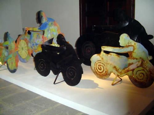 escultura de Pep Canyelles