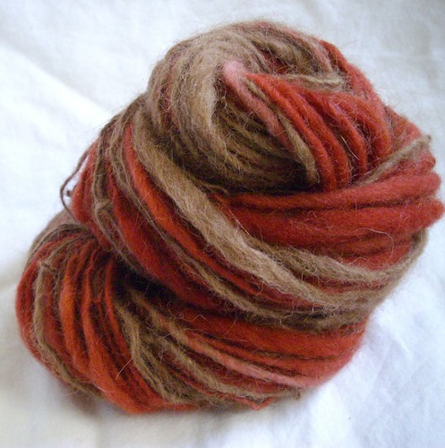 ross & rachel - handspun yarn