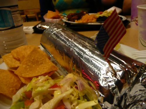 my burrito loves the usa.