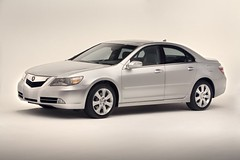 2009 Acura RL Front