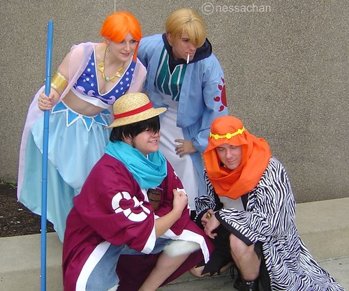 one piece cosplayers character