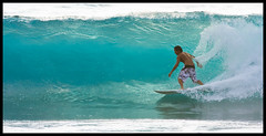 Banyans #2 (konaboy) Tags: backlight hawaii surf surfer wave surfing bigisland kona kailuakona 21320 banyans