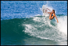 Pine Trees #2 (konaboy) Tags: girl hawaii surf surfer surfing kauai pinetrees hanalei 24989 alanablanchard loveypou