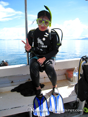 me in diving suit