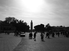 Marrakesh (Nicolas Goettel) Tags: minaret muslim morroco marrakesh muezin