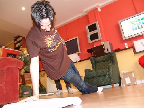 Probamos Wiifit y la Balance Board