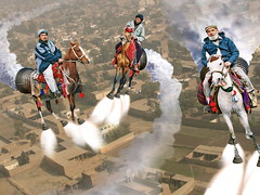Peshawar  Cronosphere Rocket Horse Racers (perfectlymadebirds) Tags: travel pakistan art speed star drive robot high ship tech space ufo aliens gravity desi pakistani starfleet spaceship planetary hyper anti intergalactic naan ufos punjabi galactic pathan salwar spaceage kameez awesom dhol pathans dast perfectlymadebirds zabber