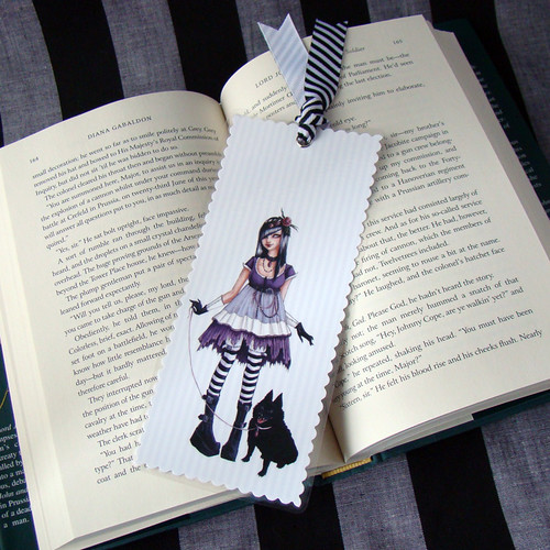 Sara and Schipperke BIG bookmark