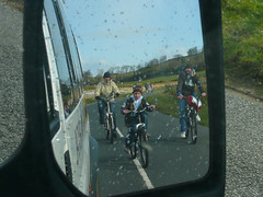 Cyclists Mirror (Little Boffin (PeterEdin)) Tags: refl