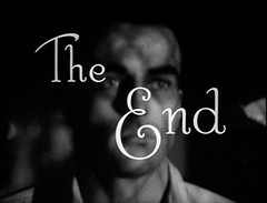The End (Dill Pixels) Tags: shadow bw cinema man film face movie screenshot theend end title named montgomeryclift ntf 4000views aplaceinthesun