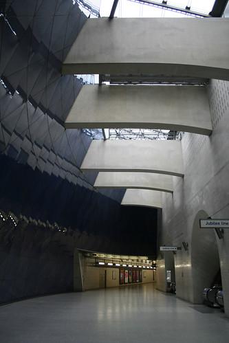 Upper level at Southwark Station