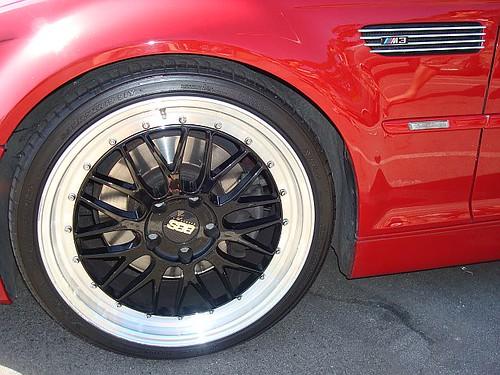 "2003 BMW M3 - BBS 19"" Wheel w/Yokohama AVS Sport tires"