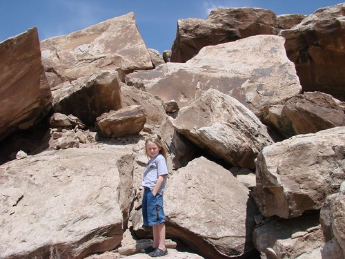 boulders at Fossil Point