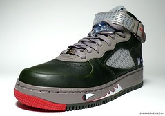 Air Jordan Force V Premier Grey Nurse 2
