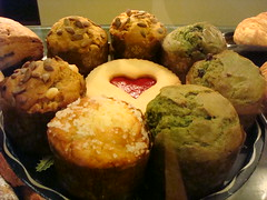 Pastries at Fuel (Muffins by Fresh Flours)