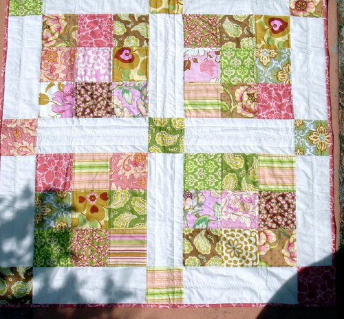 summer small quilt