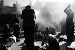 Lhasa, Tibet (Matt Scandrett) Tags: nikon asia buddhist pray praying buddhism 100v10f nikond70s tibet lhasa dalailama prostrating prostrate blackwhitephotos aplusphoto goldstaraward mattscandrett