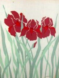Marushka - iris-like flowers (red)